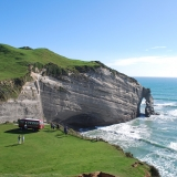 A stunning day at Cape Farewell